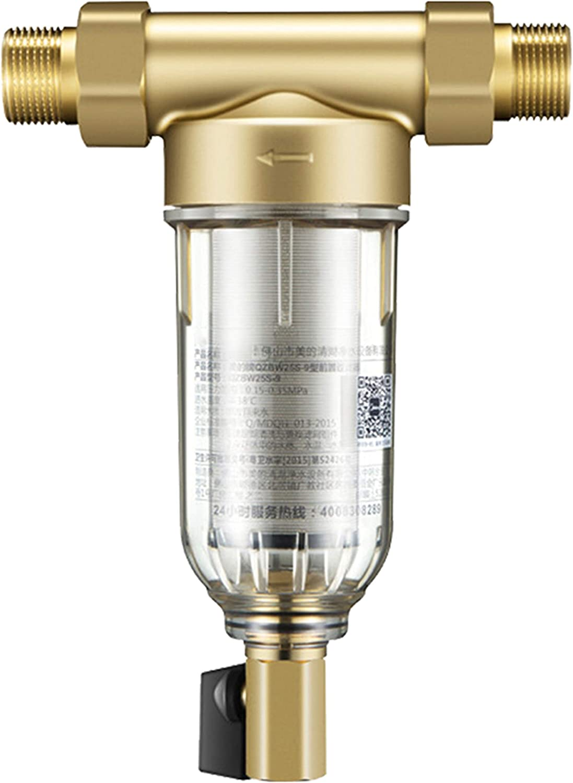 LIANGJING Filtro Frontal purificador de Agua del hogar Central de ...