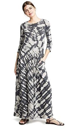75291cacc1 Raquel Allegra Women s Half Sleeve Drama Maxi Dress at Amazon ...