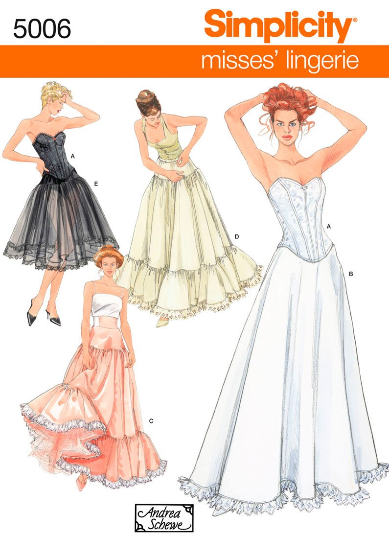 Simplicity Sewing Pattern 5006 Misses' Costumes, RR (14-16-18-20)
