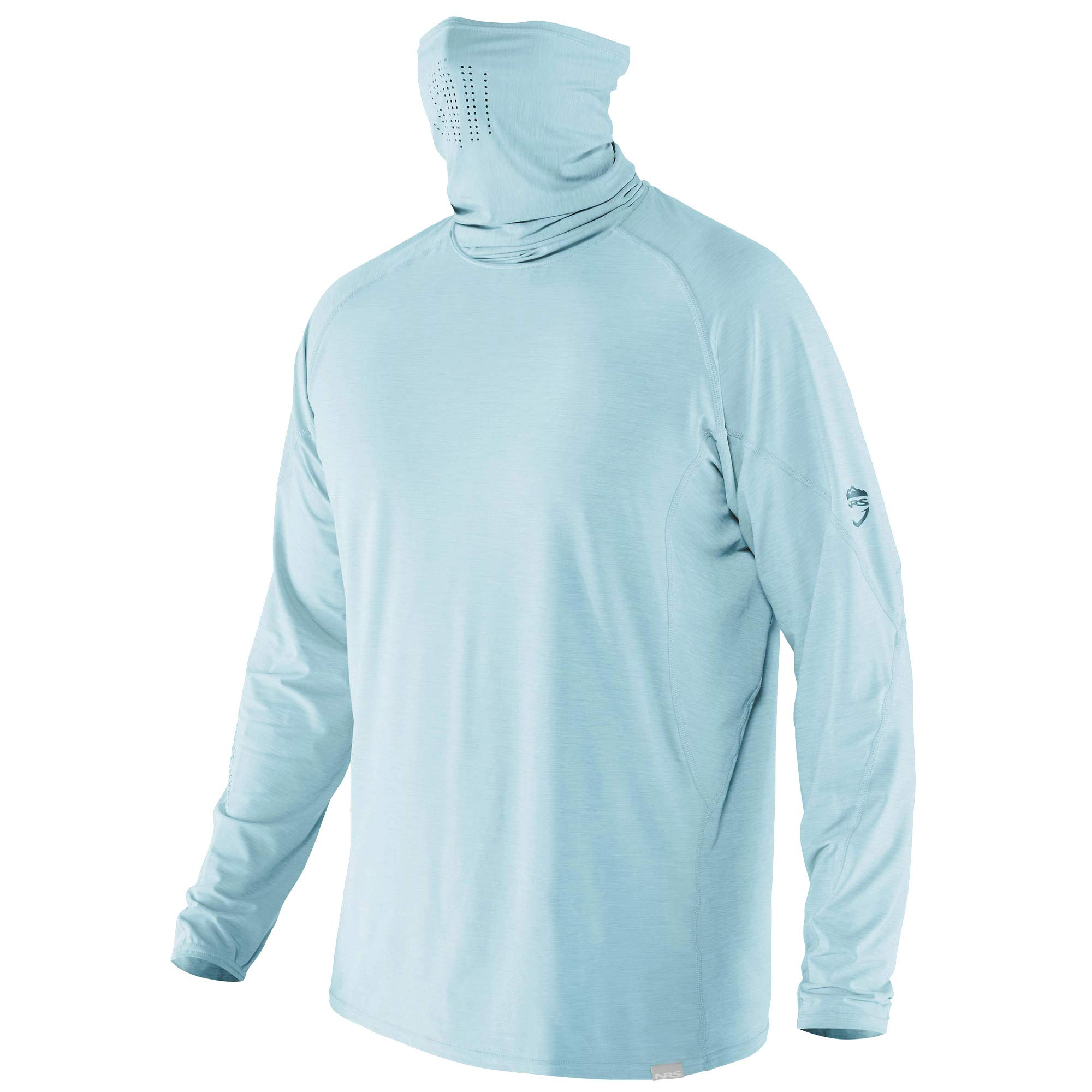 NRS Baja Long Sleeve Sun Shirt-Aquatic-S