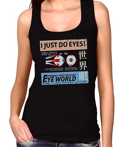 35mm - Camiseta Mujer Tirantes hannibal chew's eye world Blade Runner