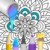 Mandala Number Coloring FREE
