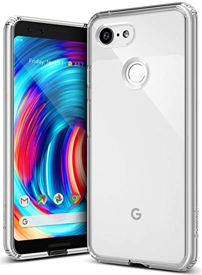 the best attitude c3ee6 72230 Caseology Waterfall for Google Pixel 3 Case (2018) - Minimal & Transparent  - Clear