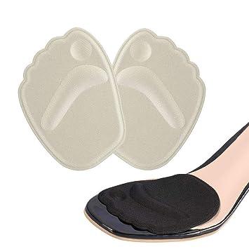 771aad4f4 Doact Plantillas de Zapatos con Tacón Alto (2 pares) Proteger los Pies,  Medio