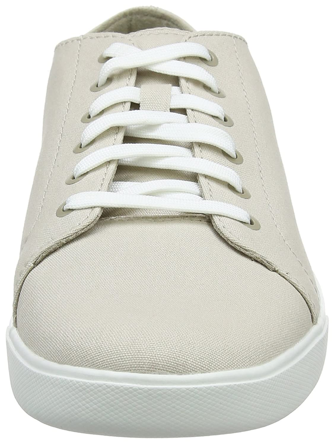Timberland Bayham, Zapatos de Cordones Oxford para Hombre, Blanco (Rainy Day Canvas F48), 45 EU