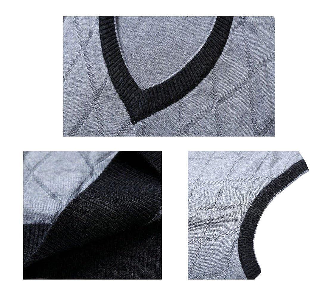 Lyamazing Men's Big and Tall Douglas V-Neck Sweater Vest