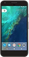 Google Pixel XL, Quite Black 32GB - Verizon + Unlocked GSM (Renewed)