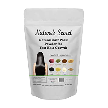 Nature S Secret Diy Natural Hair Pack Powder For Fast Hair Growth 250 Grams
