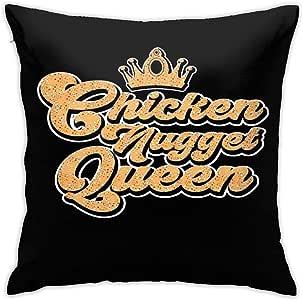 Amazon.com: Chicken Nugget Queen Chicken Nuggets Square ...