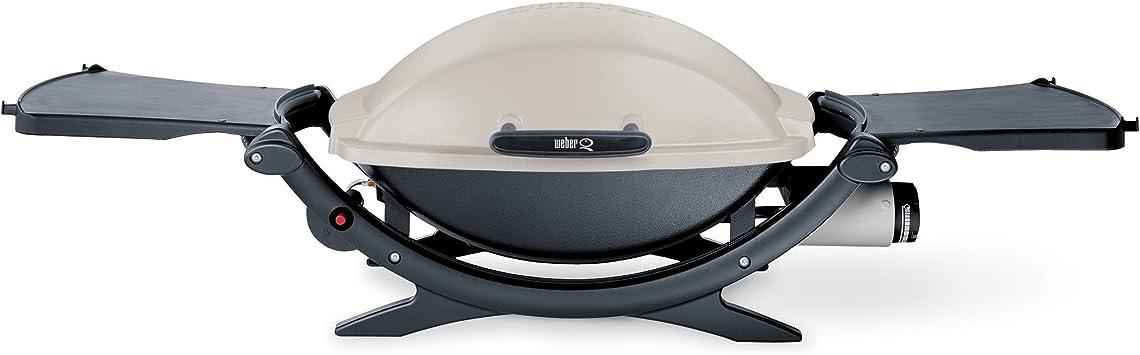 Weber 396002 Q 200 portátil 280-square-inch 12000-btu liquid-propane Gas Grill (Modelo Antiguo)