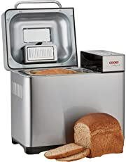 Cooks Professional Digital Bread Maker & Fruit Seed Dispenser 19 Preset Function Machine with Timer Delay, Keep Warm Setting, Accessories & Recipes