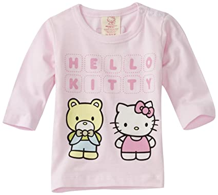 90697daeb Amazon.com: Hello Kitty Organics Baby Girls' Tippy Long Sleeve Snap T-Shirt:  Infant And Toddler T Shirts: Clothing
