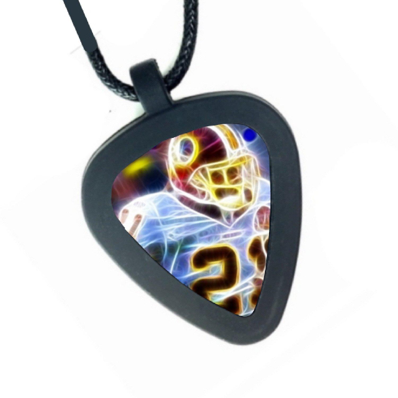 Washington Redskins Sean Taylor Pickbandz Mens or Womens Real Guitar Pick Necklace 4334252557