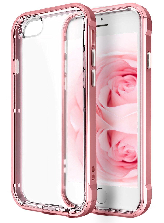 Iphone 6 Plus Case 6s Clear Artmine Goospery X Hybrid Dream Bumper Silver Dual Layers Flexible Transparent Soft Tpu Cover Rose Gold Frame Shock