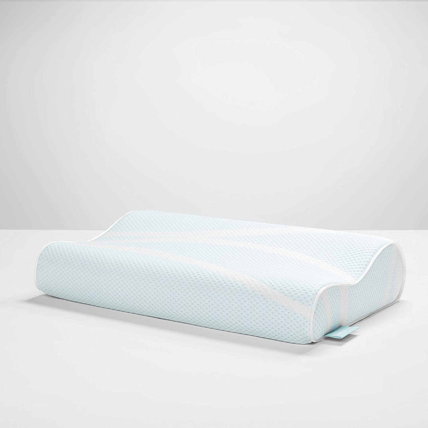 TEMPUR-PEDIC TEMPUR-Breeze Neck (Standard Medium) Pillow, White