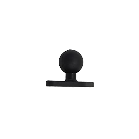 Voswitch 1 Inch Ball Mount with 1//4Inch-20 Stud for Camera