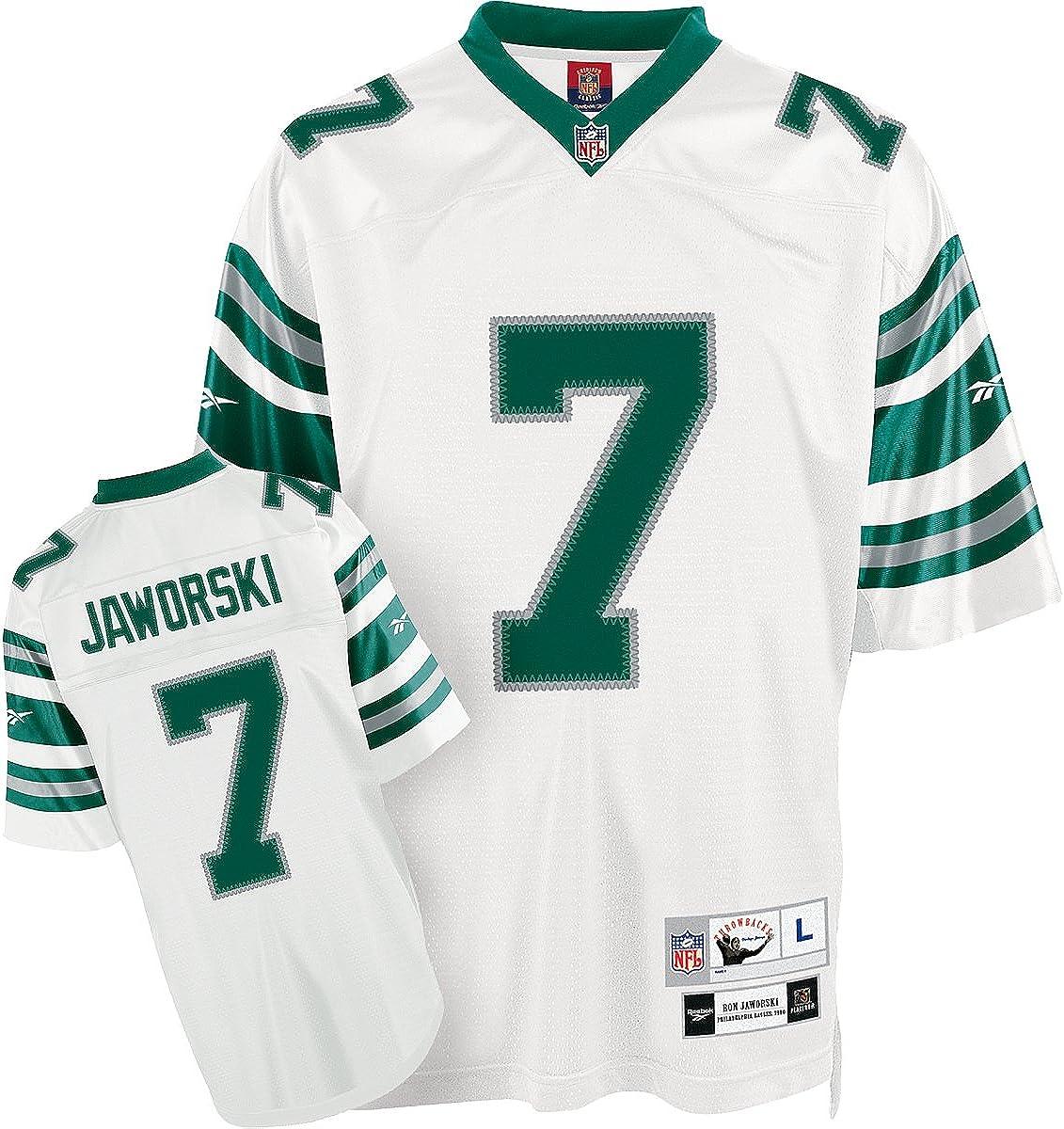 Amazon.com: Reebok Philadelphia Eagles Ron Jaworski Premier ...