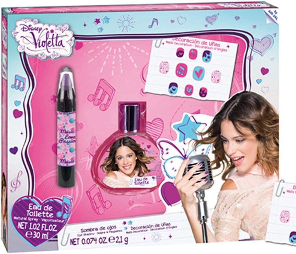 Violetta 5974 - Set de regalo, color púrpura: Amazon.es: Belleza