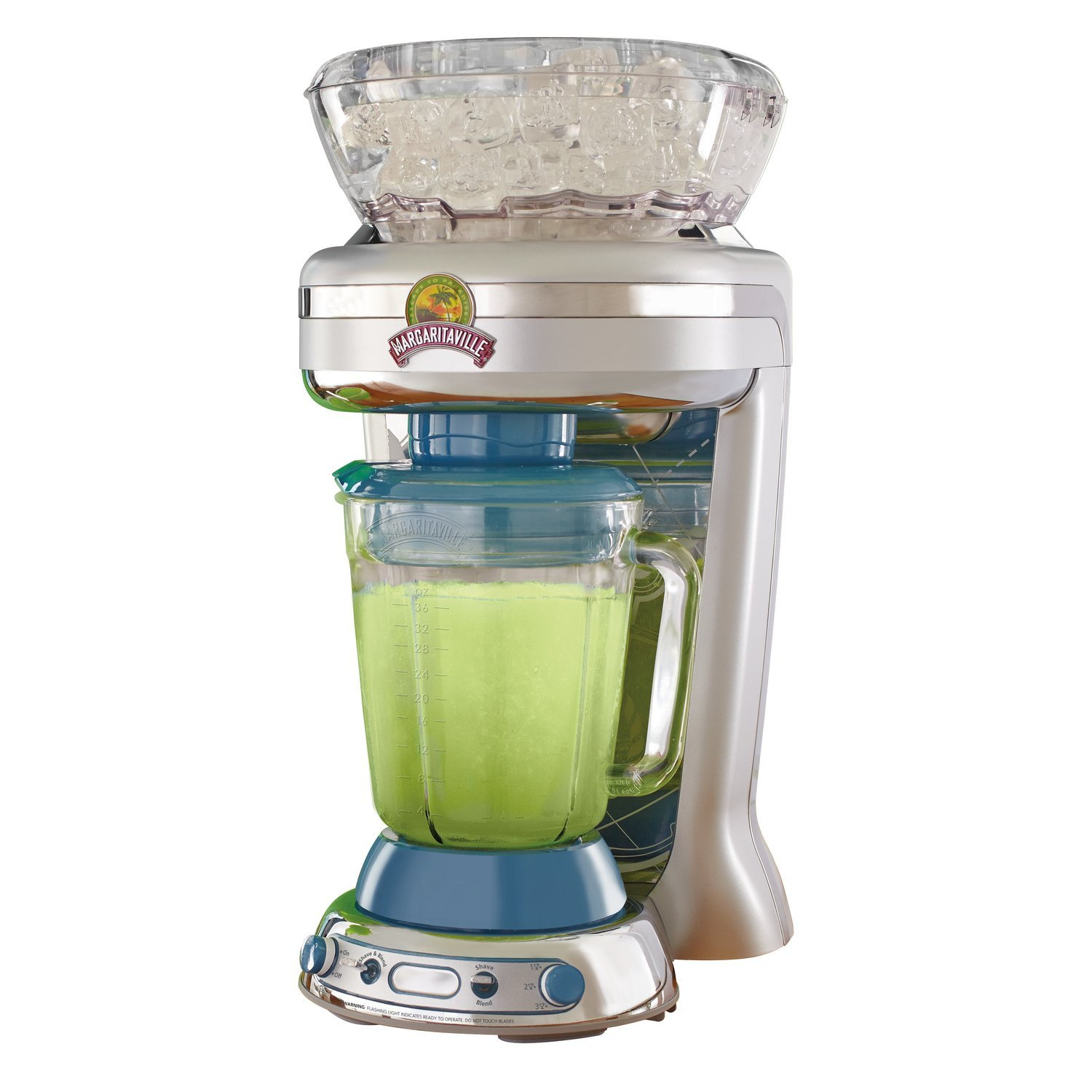 Margaritaville Key West Frozen Concoction Maker with Easy Pour Jar and XL Ice Reservoir, DM1900 by Margaritaville