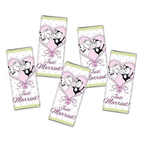 5 Mal Mini Schokolade Hochzeit Liebe Steinbeck Vollmilch Schokolade