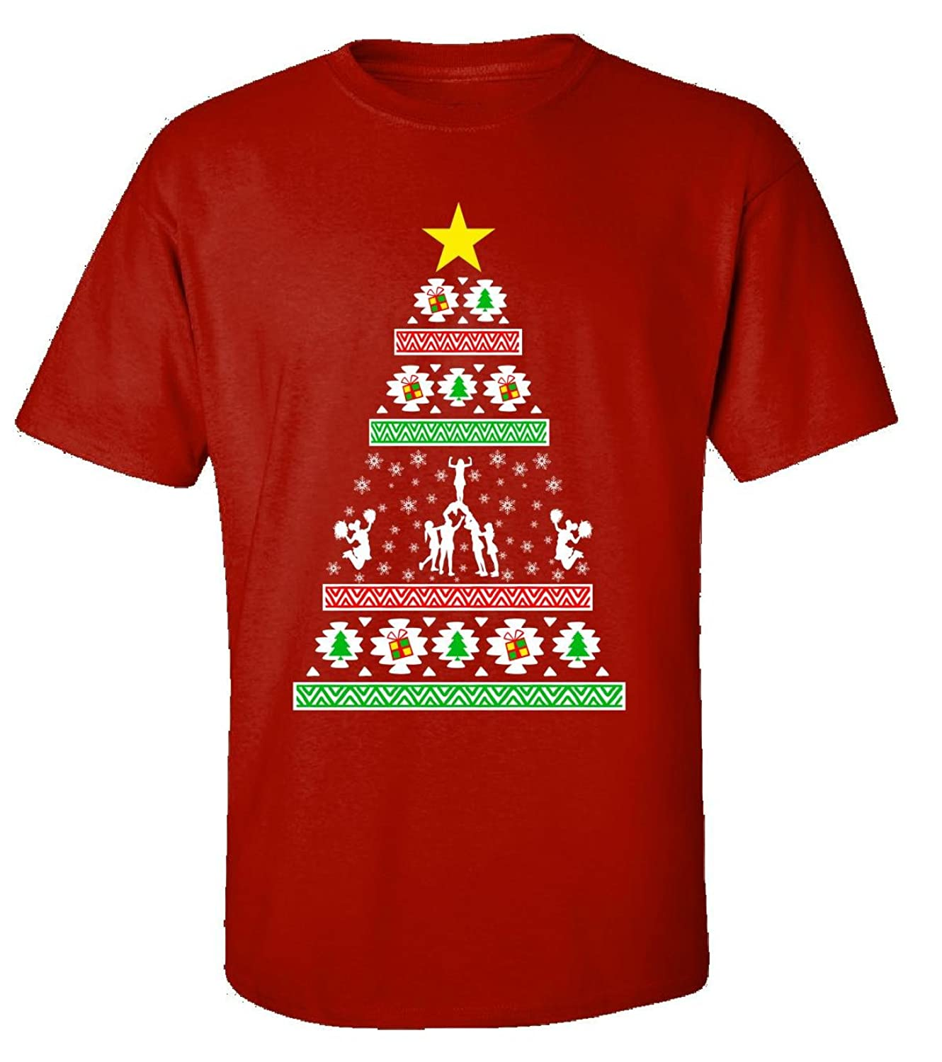 Cheerleading Gifts Ideas Ugly Christmas - Adult Shirt