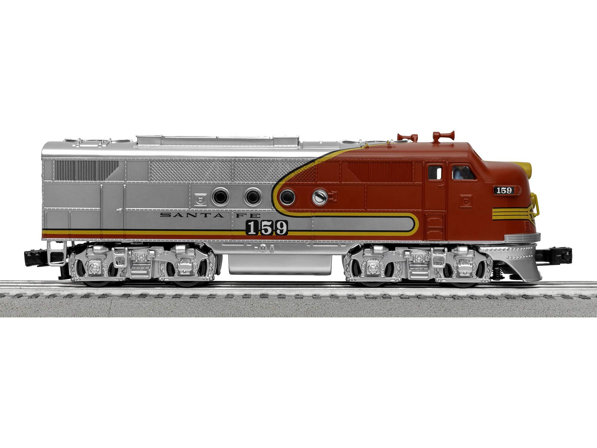 Lionel Santa Fe Super Chief Electric O Gauge Model Train Set w/ Remote and Bluetooth Capability by Lionel (Image #6)