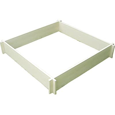 New Age Garden ecoFLEX 4' x 4 ' Raised Garden Bed: Garden & Outdoor
