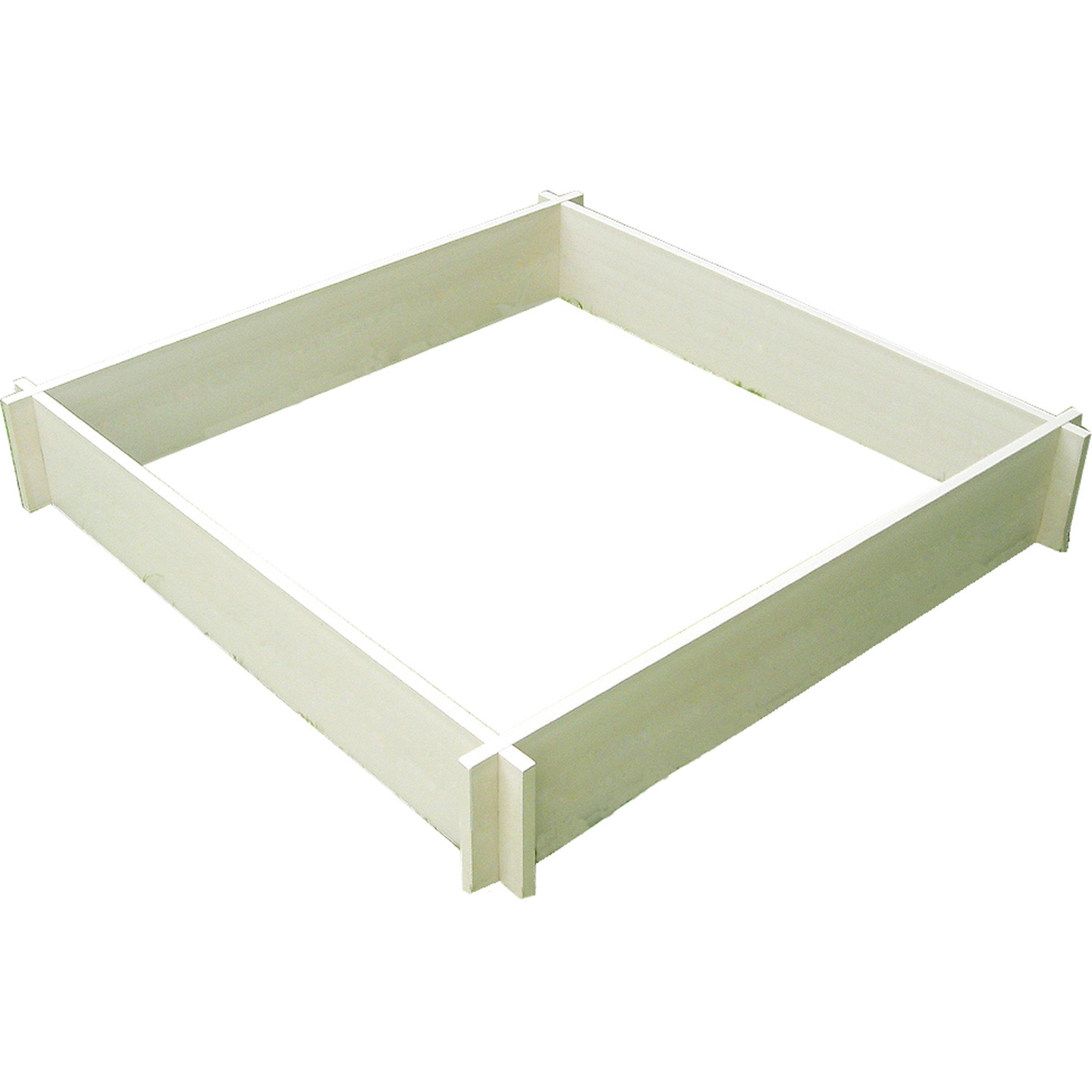 New Age Garden ecoFLEX 4' x 4 ' Raised Garden Bed