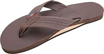 59c0a5dd3 Rainbow Sandals Women s Single Layer Classic Leather Mocha