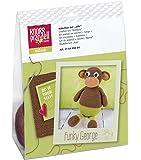 Knorr Prandell 218405004–Crochet Set animaux–singe pour selberhäkeln