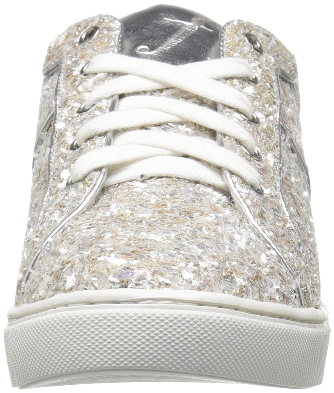 The Fix Women's Tawny Lace-up Fashion Sneaker, Silver Ice, 7.5 B US by The Fix (Image #4)