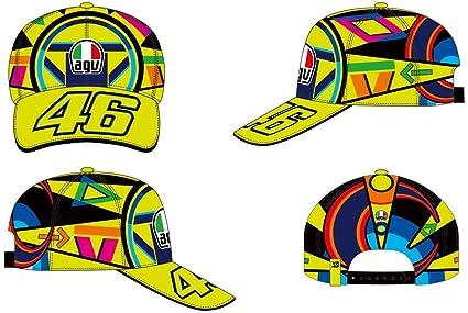 VR46 Gorra béisbol Valentino Rossi Cap Replica Casco Helmet ...