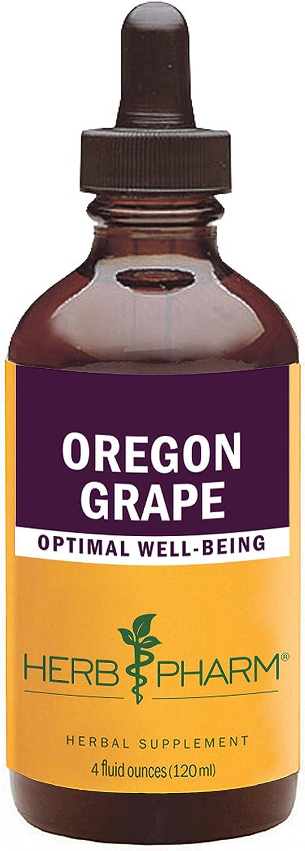 Herb Pharm Oregon Grape Root Liquid Extract – 4 Ounce