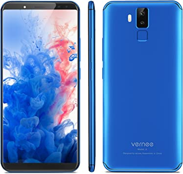 "Vernee X 4G Smartphone Libre de 6.0""4GB RAM 64GB ROM, Android 7.1 ..."