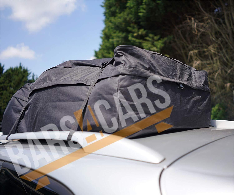 Roof Box Alternative for Roof Rails UKB4C 458l Large Car Cargo Travel Rain Water Proof Roof Bag