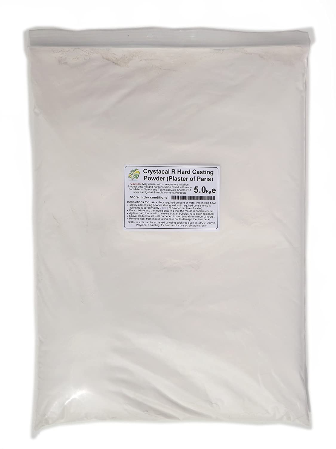 10kg Crystacal R - Plaster of Paris Saint Gobain