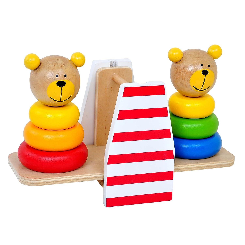 Amazon Fat Brain Toys Bear Balance Balancing Bear Bud s