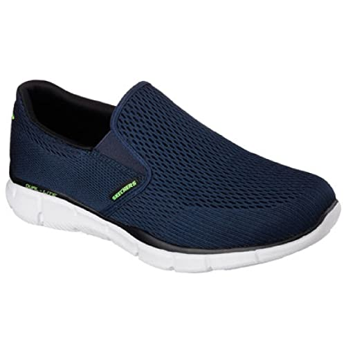 Skechers Mens Equalizer Double Play Slip On Memory Foam Shoes