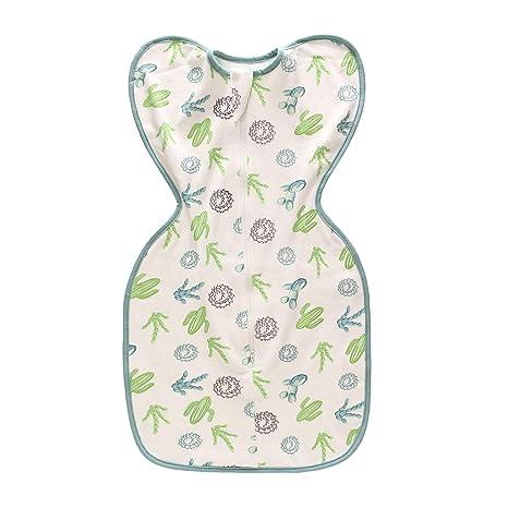Miracle Baby Saco de dormir suave y acogedor por 0-6 meses, Mochila para