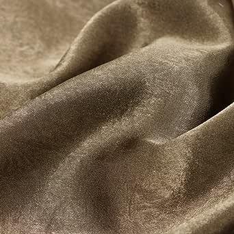 Al lamsa Al Mkhmalya Ladies Fabric, Color - Honey Suckle