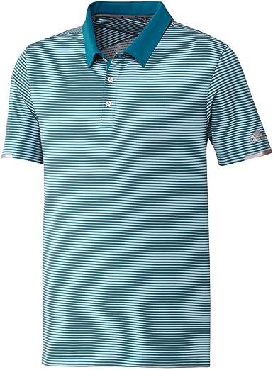 adidas Climachill Tonal Stripe Polo Shirt Hombre: Amazon.es ...