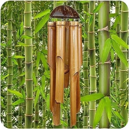 Bambus Windspiel Klangspiel Mobile auch für Außenbereich verschiedene Größen
