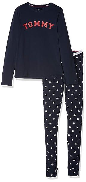 Tommy Hilfiger LS Set Stars, Pijama para Niñas: Amazon.es: Ropa y accesorios