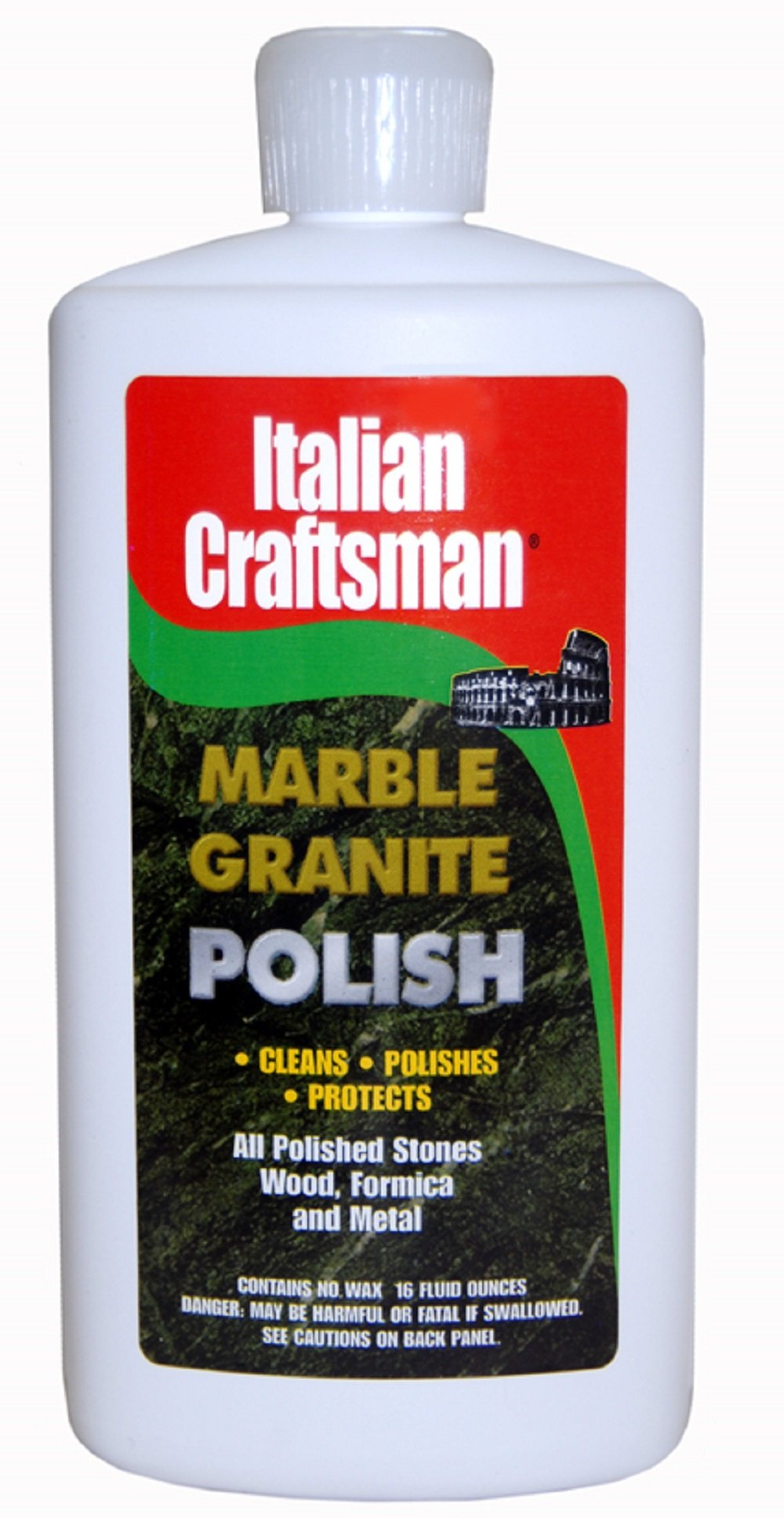 Granite And Marble Polish - Cleans And Protects - Italian Craftsman 16 Oz 2