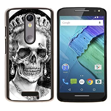 Planetar® (Corona de la reina Blanca Negro cráneo muerto)  Motorola Droid Turbo 2