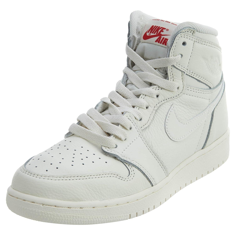 8d5f0ca2e0af5 Amazon.com: Nike 1 Retro High Big Kids Style: 575441-114 Size: 6: Jordan:  Sports & Outdoors