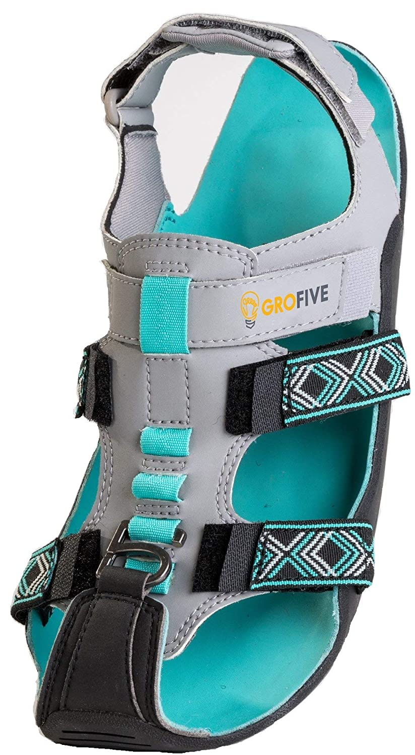 Expandable GroFive Expandal Little Kid//Big Kid Supports The Shoe That Grows Sustainable Functional Sandals Built Durable Enough to Last 5 Sizes of Growth on Growing Feet