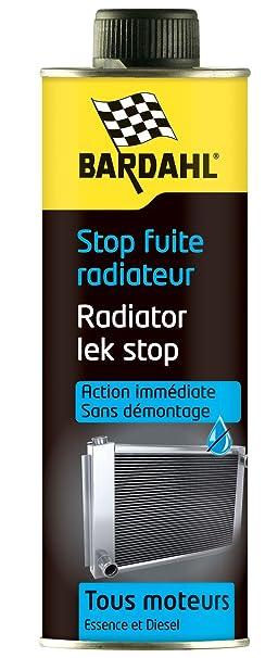 Amazon.Fr : Bardahl 1099 Additifs Pour Huile Moteur Stop Fuite Radiateur
