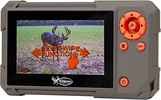 Amazon.com : Wildgame Innovations Trail Pad | VU60 SD Card Reader with Touch Screen, Brown : Sports & Outdoors