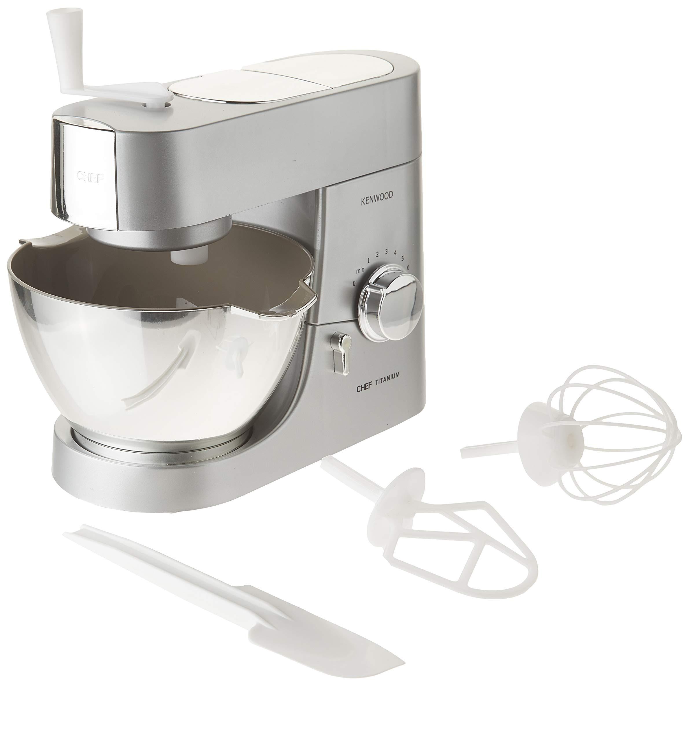 CASDON Little Cook 63502 Kenwood Toy Mixer, Silver/Chrome Effect by CASDON